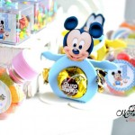 Mickey com bombom Festa Baby Disney do Heitor