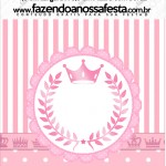 Mini Pastilha Docile Kit Realeza Rosa
