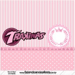 Mini Trakinas Kit Realeza Rosa