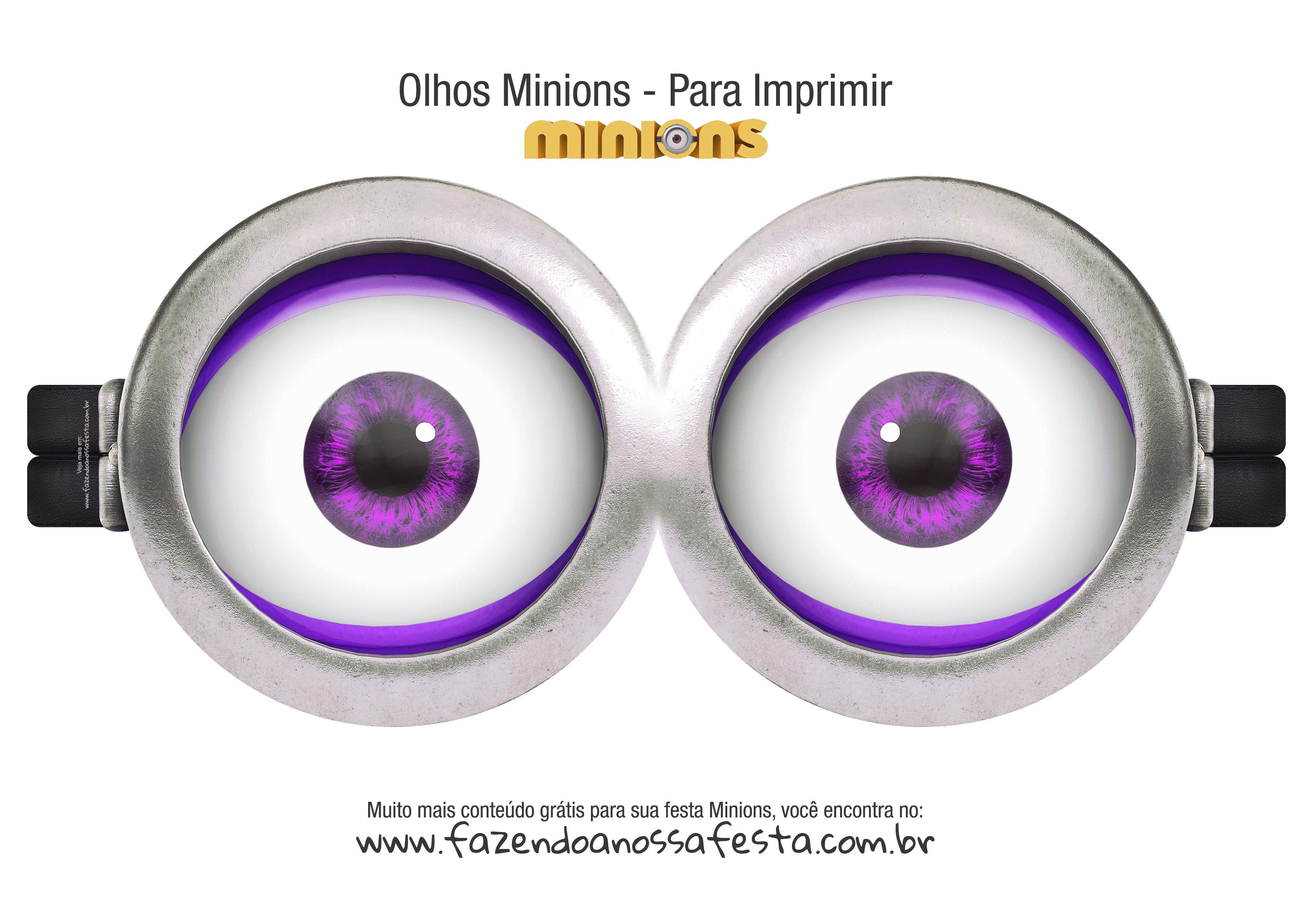 Olhos Minions do Mal