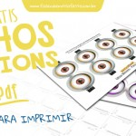 Olhos Minions – Grátis para Imprimir
