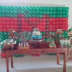 Painel de Balão Festa Tartarugas Ninjas do Murilo