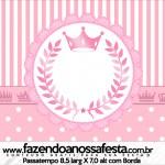 Passatempo Kit Realeza Rosa