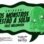 Plaquinhas divertidas Halloween