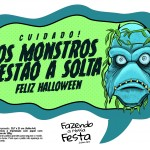 Plaquinhas divertidas Halloween 2