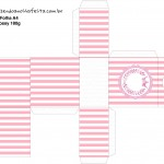 Porta Tubetes Kit Realeza Rosa