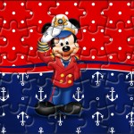 Quebra-cabeça Mickey Marinheiro