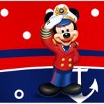 Rótulo Água Mickey Marinheiro