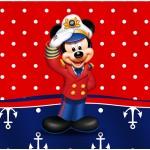 Rótulo Bolinha de Sabão Mickey Marinheiro