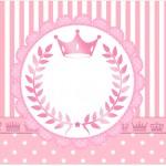 Rótulo Caixa Bombom Kit Realeza Rosa