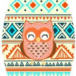 Rótulo Esmalte Colorama Corujinha Laranja Indie