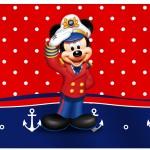 Rótulo Espumante Mickey Marinheiro