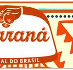 Rótulo Guaraná Caçulinha Corujinha Laranja Indie