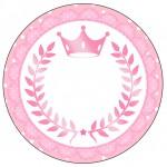 Rótulo Latinhas Kit Realeza Rosa