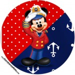 Rótulo Latinhas Mickey Marinheiro