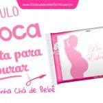 Rótulo Pipoca Pronta para Estourar – Chá de bebê