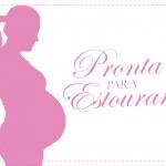 Rótulo Pipoca Pronta para estourar Chá de Bebê 2