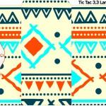 Rótulo Tic Tac Corujinha Laranja Indie