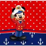 Rótulo Tubetes Mickey Marinheiro