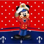 Rótulo Tubetes festa Mickey Marinheiro