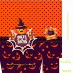 Sacolinha Halloween A4 Parte 2