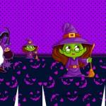 Sacolinha Halloween Bruxinha A3