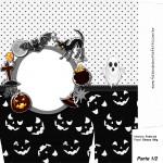 Sacolinha Halloween Fantasma A4 Parte 1