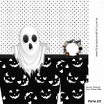 Sacolinha Halloween Fantasma A4 Parte 2