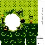 Sacolinha Halloween Frankenstein A4 - Parte 1