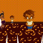 Sacolinha Halloween Lobisomem A3