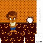 Sacolinha Halloween Lobisomem A4 - Parte 2