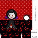 Sacolinha Halloween Vampira A4 - Parte 2