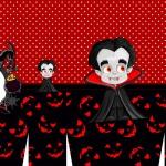 Sacolinha Halloween Vampiro A3
