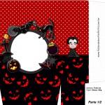 Sacolinha Halloween Vampiro A4 - Parte 1