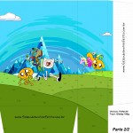 Sacolinha Personalizada Hora de Aventura A4 - Parte 2