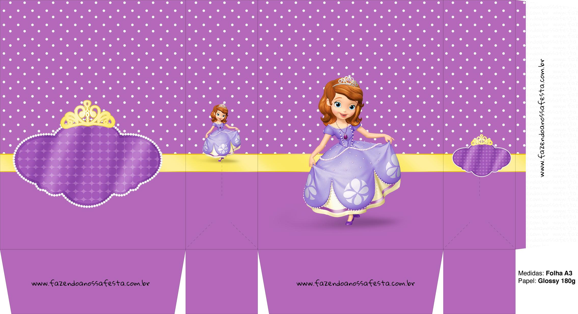 Sacolinha Princesa Sofia A3