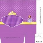 Sacolinha Princesa Sofia A4 - Parte 1