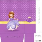 Sacolinha Princesa Sofia A4 - Parte 2