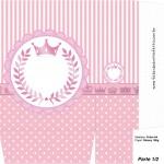 Sacolinha Surpresa Kit Realeza Rosa - Parte 1