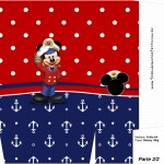 Sacolinha Surpresa Mickey Marinheiro - Parte 1