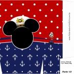 Sacolinha Surpresa Mickey Marinheiro - Parte 2