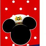 Tag Agradecimento Mickey Marinheiro