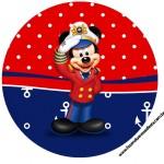 Tag para Tubete Mickey Marinheiro