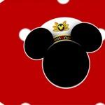 Tag pequena Mickey Marinheiro