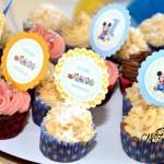 Toppers para Tubetes Festa Baby Disney do Heitor