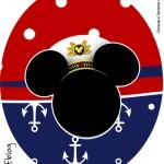 Tubete Oval Mickey Marinheiro