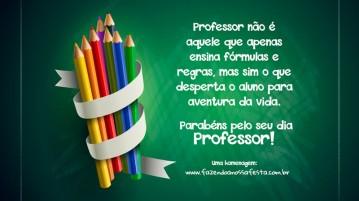 Homenagem Dia dos Professores