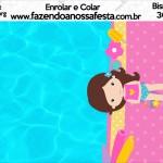Bisnaga Brigadeiro 30gr Pool Party Menina