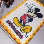 Bolo Festa Mickey do Leonardo