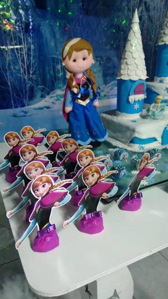 Bombom Anna Festa Frozen da Alicia